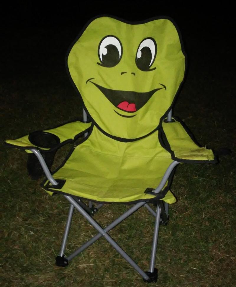 frosch stuhl lustig